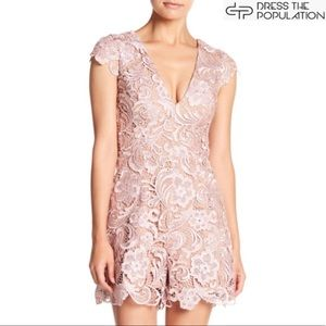Dress the Population Other - Gorgeous Dress the Population lace romper! 😍 NWT